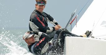 Mateusz i Dominik wygrali pierwszy wyścig  MŚ 2009