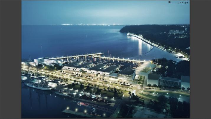 Wizualizacja Nowa Marina Gdynia - Studio Architektoniczne Kwadrat