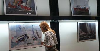 Wystawa zdjęć z Żeglarskiego Pucharu Trójmiasta