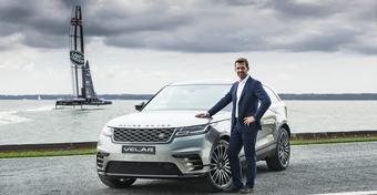 Mateusz Kusznierewicz Ambasadorem modelu Range Rover Velar